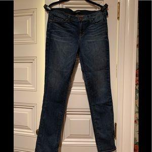 J Brand Mid-Wash Skinny Leg Jeans